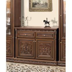 Комод двухдверный в мебельный гарнитур Тоскана Нова
