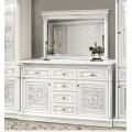 Буфет с зеркалом в мебельный гарнитур Тоскана Нова