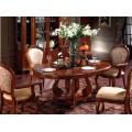 Набор обеденный в столовую стол Классик 02/1 со стульями 8016