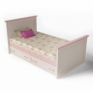 Детская кровать 90 в подростковый гарнитур Вояж (Voyage), Аквародос