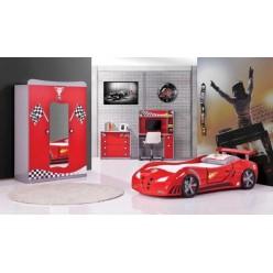 Кровать Машинка RED CAR, Турция