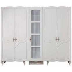 Белый шкаф для одежды, Турция
