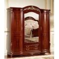 Одежный четырехдверный шкаф в мебельный гарнитур Кассандра