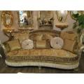 Прямой классический раскладной диван Лувр, Америка