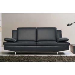 Кожаный не раскладывающийся диван для гостиной Спирит