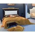 Кровать большая 1800 с позолотой Эрмитаж