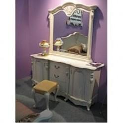 Стол туалетный закрытого типа В для спальни Коко Шанель 8656