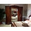 Шкаф для одежды с зеркалами в спальню Элизабет 8706, JOSS
