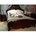 Коричневая кровать 1800 с мягким изголовьем Элизабет