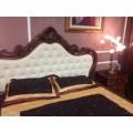 Классическая кровать 1600 с мягким изголовьем Эмили, JOSS