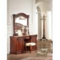 Коричневый туалетный стол в спальню Венеция 8602