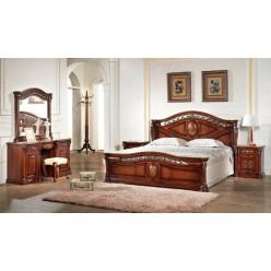 Шкаф четырехдверный для одежды в спальню Венеция 8602