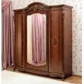 Одежный четырехдверный шкаф в спальню Жозефина