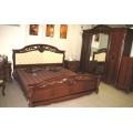 Кровать 1600 с мягким изголовьем в спальню Жозефина