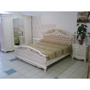 Двухспальная кровать 1600 в мебельный гарнитур Жозефина, ЛВС