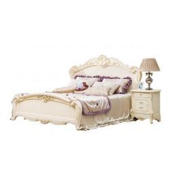 Кровать 1800 в белый мебельный гарнитур Катрин