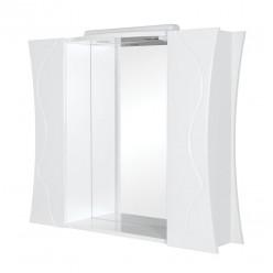 Белоснежная мебель для ванной Соло, Аквародос