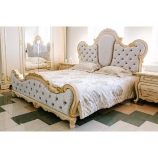 Белая кровать в мебельный гарнитур Милана ( Монако), Киев