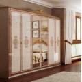 Шкаф шестидверный в мебельный гарнитур Дженифер
