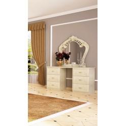 Стол туалетный с зеркалом Олимпия