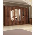 Шкаф шестидверный в мебельный гарнитур Олимпия