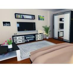 ТВ тумба в мебельный гарнитур Виола, Миромарк