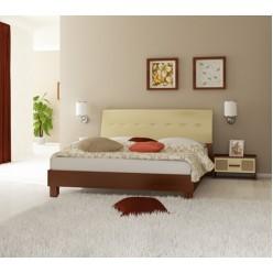 Кровать 1600 с мягким изголоьем (подъемный механизм) Виола