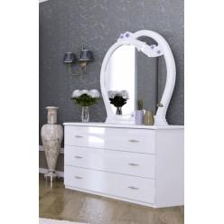 Комод с зеркалом в спальню Лулу