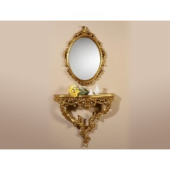 Зеркало -консоль Россана Голд, Китай
