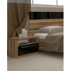 Стильная прикроватная тумбочка в спальню Соната