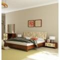 Кровать 1600 с прямым изголовьем в спальню Терра