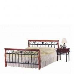Кованая кровать 0.9 AT-9041 SB, Топ мебель