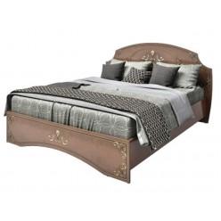 Кровать с круглым изголовьем в спальню Ницца, Аквародос
