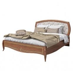 Двухспальная кровать с обитым изголовьем в спальню Сан Ремо ( SAN REMO)