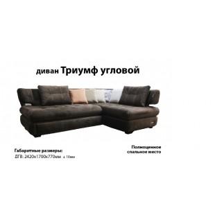Большой угловой диван Триумф, Украина