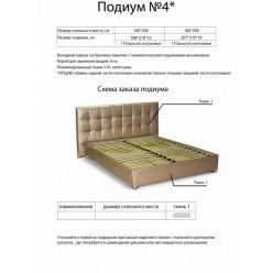 Недорогие кровати с подъемным -механизмом №4 Матролюкс