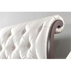 Кровать 1800 с мягким изголовьем в спальню Версаль, Польша