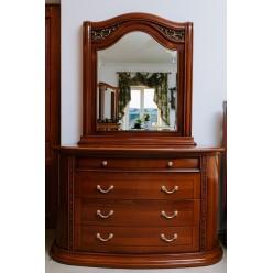 Комод с зеркалом в мебельный гарнитур Валенсия, Китай