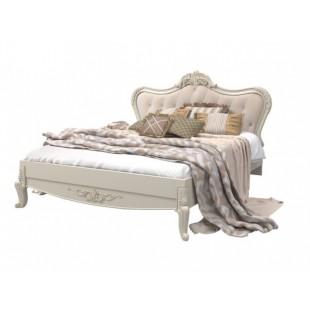 Белая двухспальная кровать в спальню Versal, Аквародос
