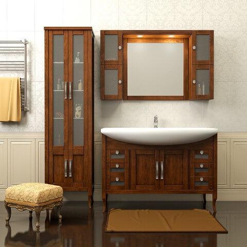 встраиваемая мебель для ванной комнаты фото