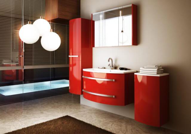 Купить мебель для ванной комнаты: фото каталог с размерами