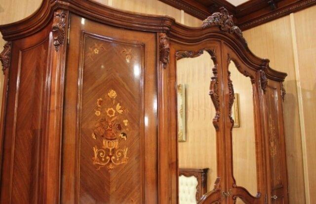 Шпонированые фасады шкафа Мара Белла Nord Simex